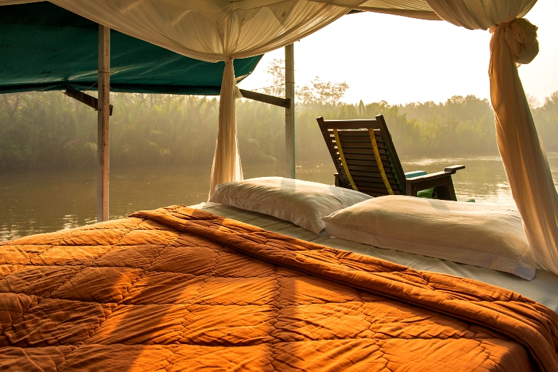 Borneo - Boat Bed on Deck 1