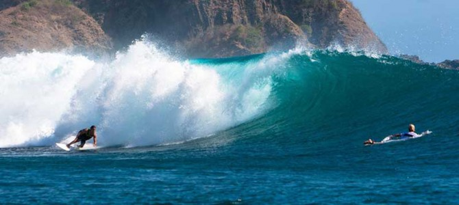 Surfing Destination: Ekas Reef, Lombok