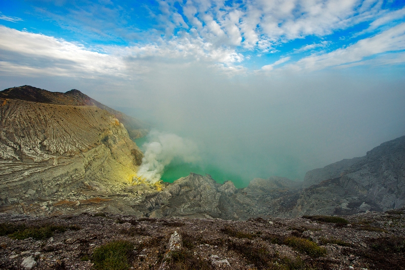 Ijen Crater Lake 1