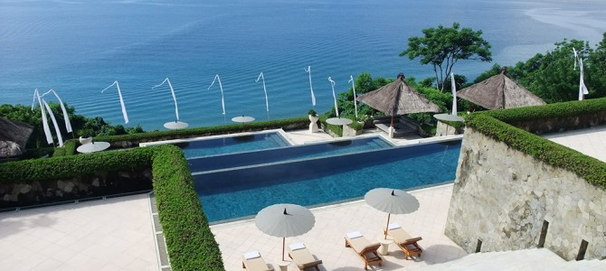 Complimentary upgrade from Amankila Resorts, Bali
