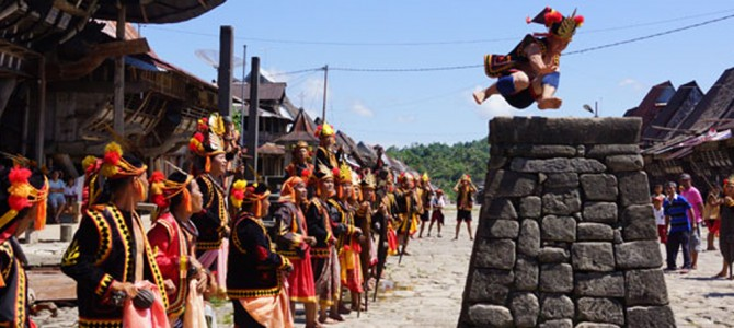 Garuda Indonesia Boosts Access and Services to Megalithic Nias