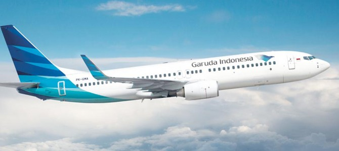 Garuda Indonesia Commences Charter Flight between China and Bali