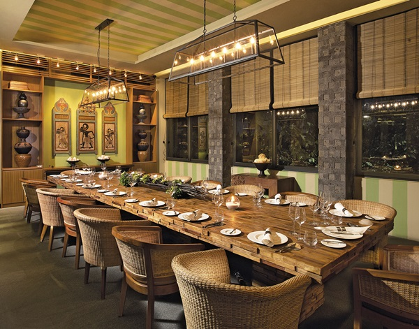 private dining mozaic style, bali – top indonesia holidays