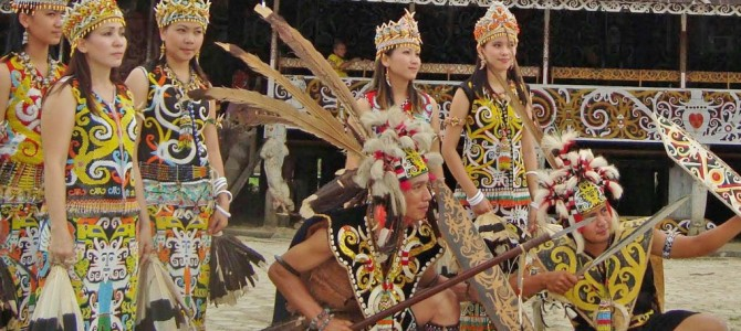 Pampang Cultural Village, East Kalimantan
