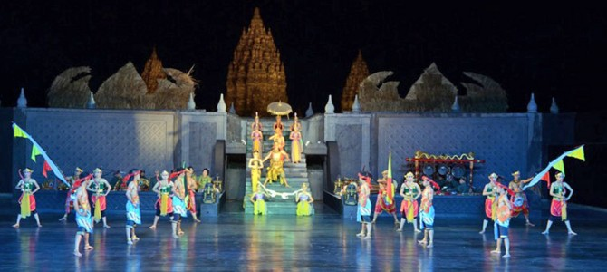 Ramayana Ballet Dance Performance at The Prambanan Temple