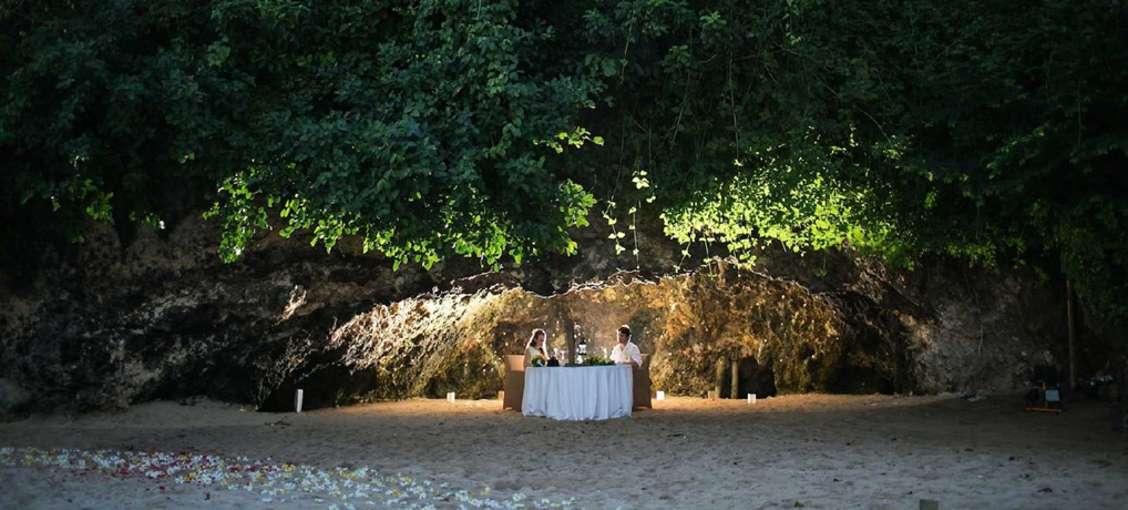Cave Dining At The Samabe Bali Top Indonesia Holidays