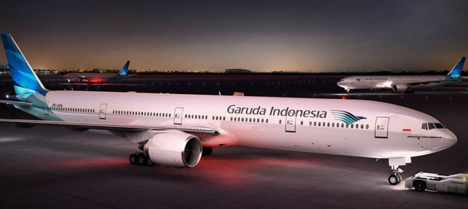 Garuda begins direct London-Jakarta flights, switches to Heathrow