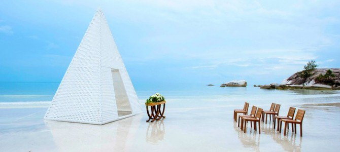 Arumdalu Resorts, romantic destination in Belitung