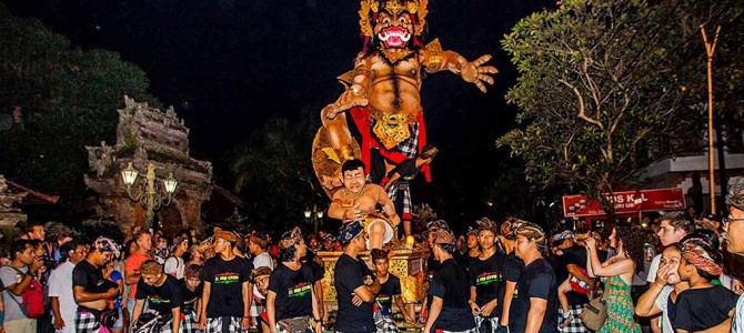 "Balinese New Year, Bali's Day of Silence ""Nyepi"" 2020"