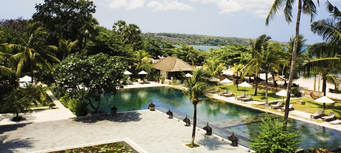 A letter from Belmond Jimbaran Puri for reopening date