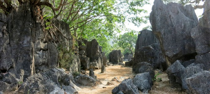 Exploring the Leang-Leang Caves of Maros, Sulawesi