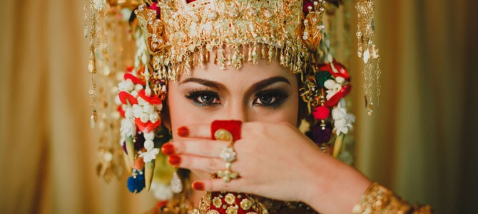 Traditional Indonesian Wedding from Padang, West Sumatera