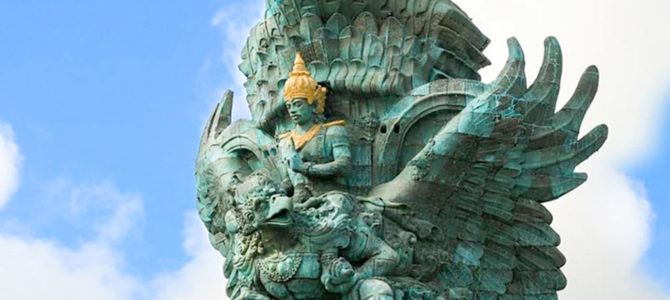 Construction of Southeast Asia's Tallest Statue, Garuda Wisnu Kencana Completed
