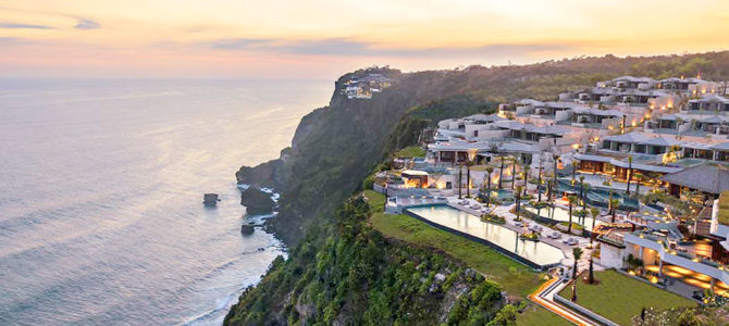 The Luxe clifftop Resort, Six Senses Uluwatu Bali