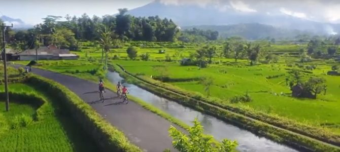 Sidemen Cycling: East Bali's Countryside Charm at Sidemen Village