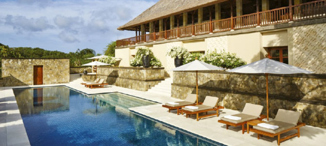 Terrace Suite and Deluxe Suite of Aman Villas Nusa Dua