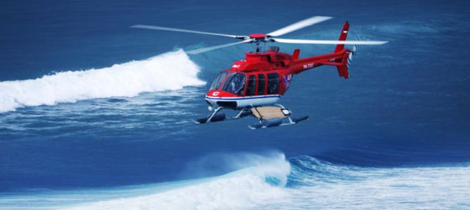 Asia's First Heli-Surfing Tours Launched at Four Seasons Resorts Bali