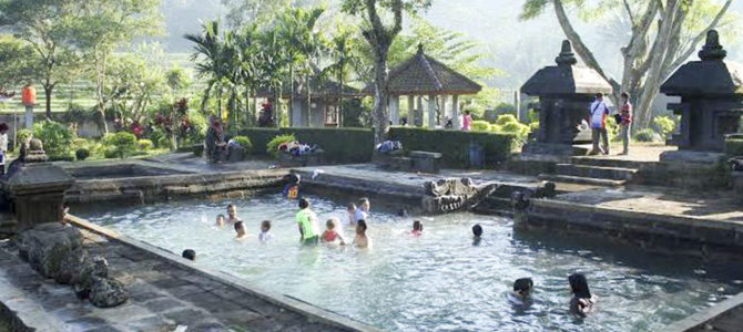 The Ancient Umbul Temple Hot Spring, Magelang